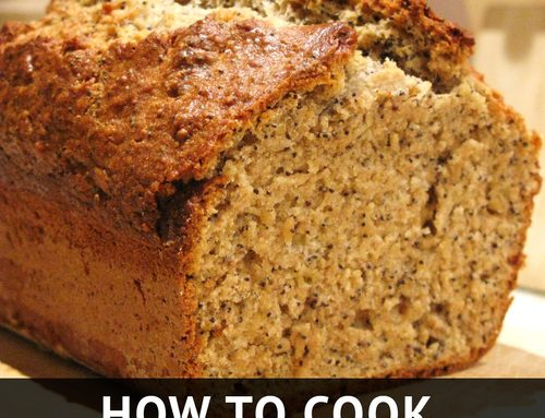 How to Cook: Healthy Banana Bread