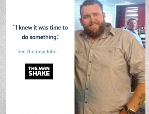 John knew it was time to change and lost 45kg!