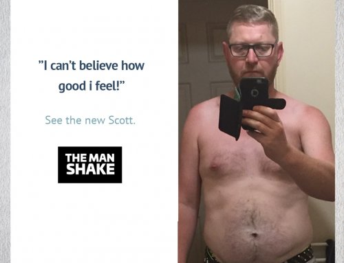 Scott wanted to feel better before he turned 40. So he lost 14kg!