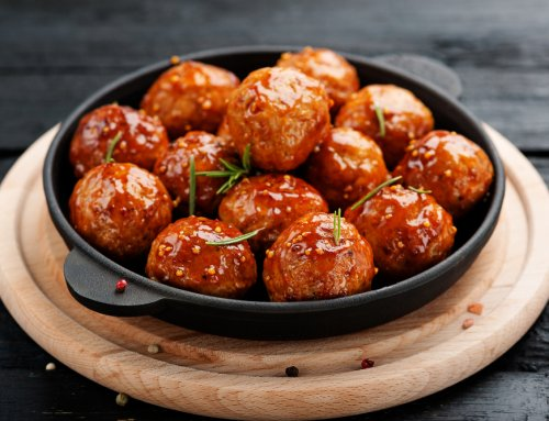 Honey Sriracha Meatballs